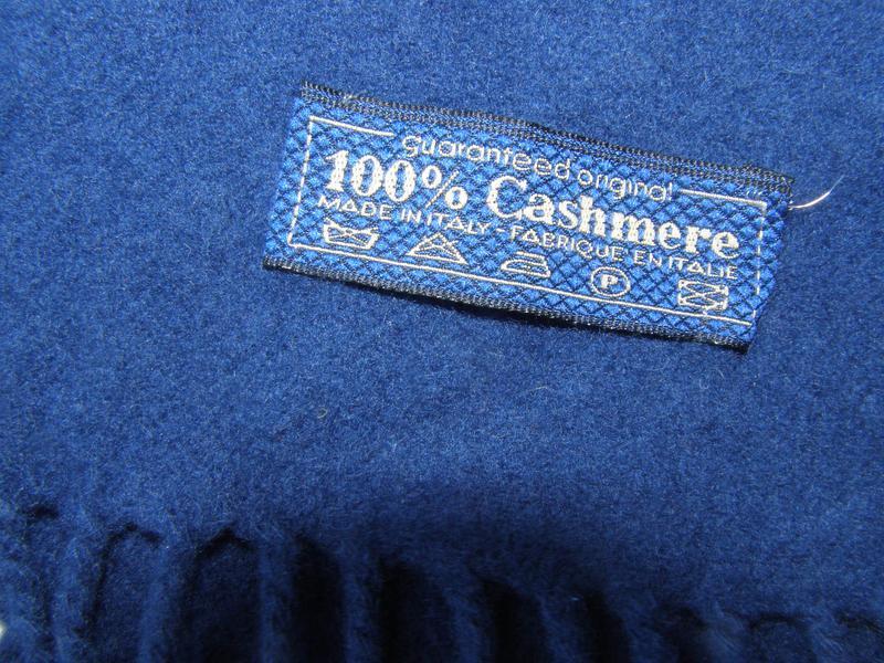 100% cashmere кашемировый шарф. италия