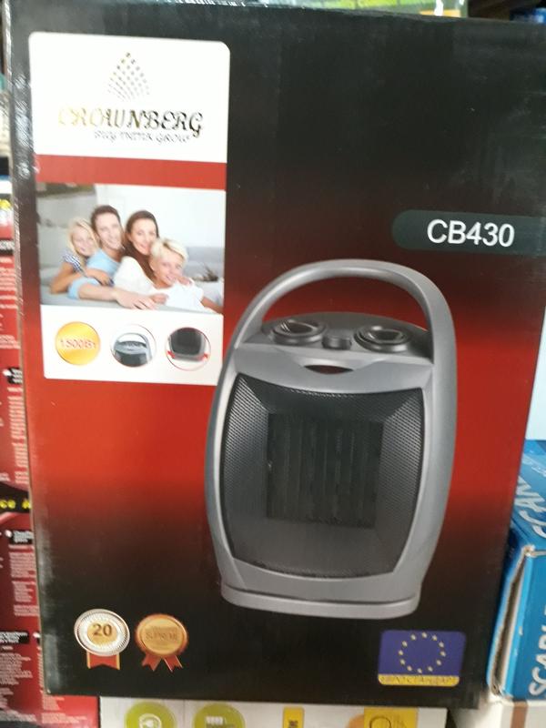 Тепловентилятор керамический Crownberg CB 430