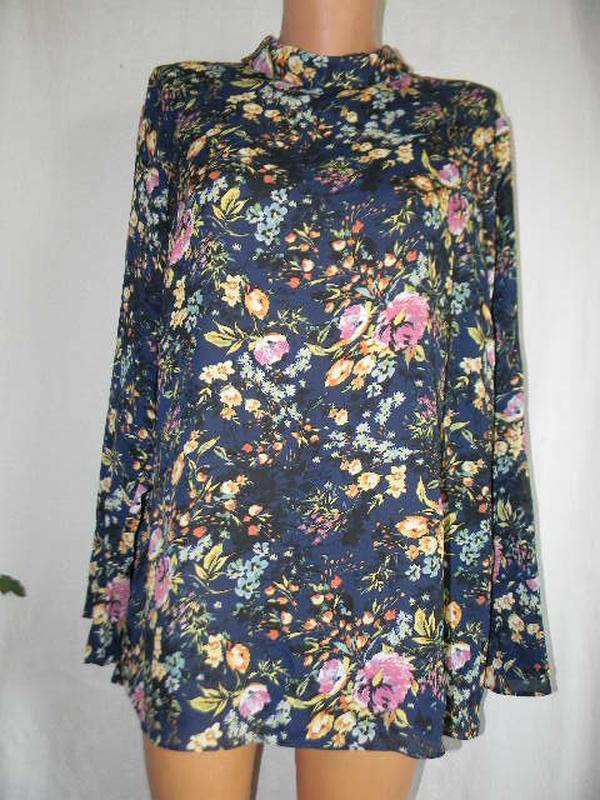 Новая цветочная блуза