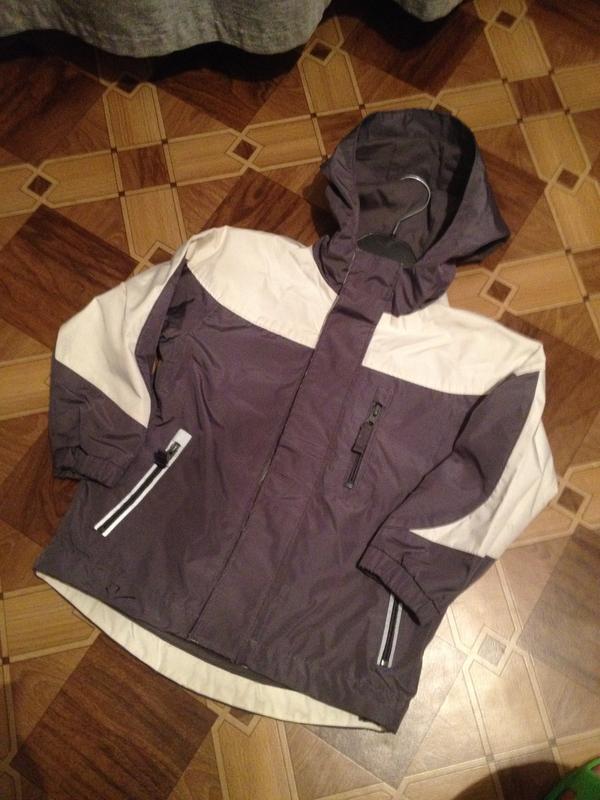 Курточка детская на флисе 3-4 года