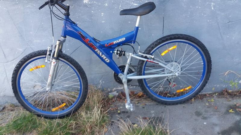 Велосипед з Германії LEOPARD стальний
