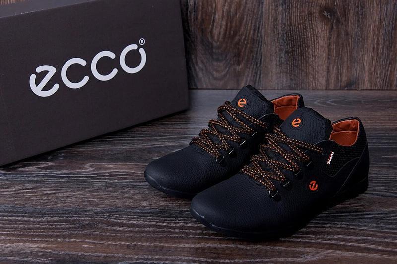 Мужские кожаные кроссовки  E-series - Фото 3