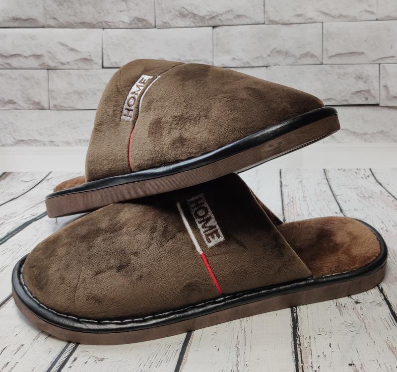 Мужские тапки тапочки комнатные для дома  40-44р.favorite shoe...