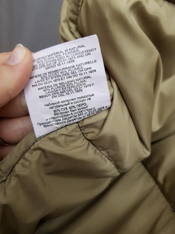 Куртка пуховик ralph lauren - Фото 9