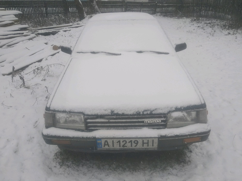 Мазда 323 BF 1.7 D 1986 р.в