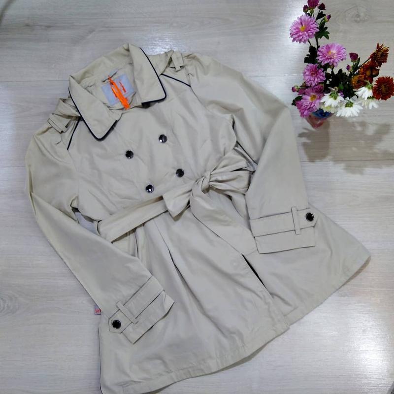 Детские демисезонные куртки-плащи, утепленные
