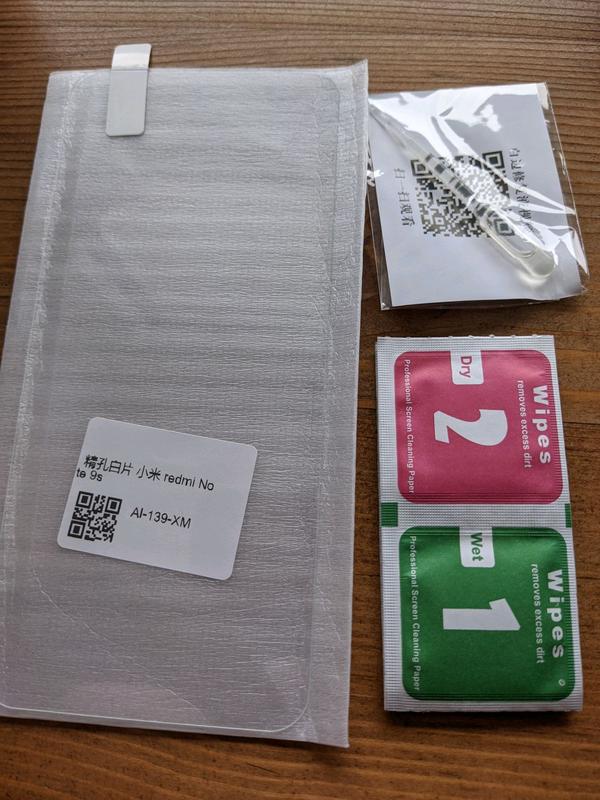 Захисне скло Xiaomi Redmi Note 9S