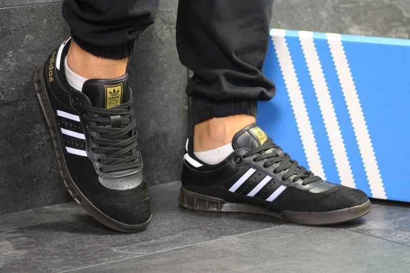 Кроссовки adidas 5987 черные - Фото 3