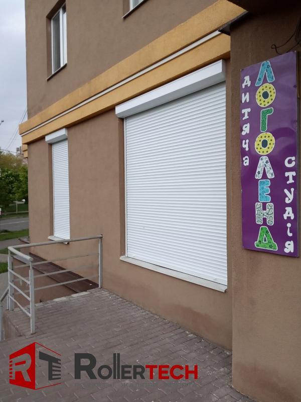 Защитные ролеты (роллеты) на двери и окна. Рольставни на гараж.