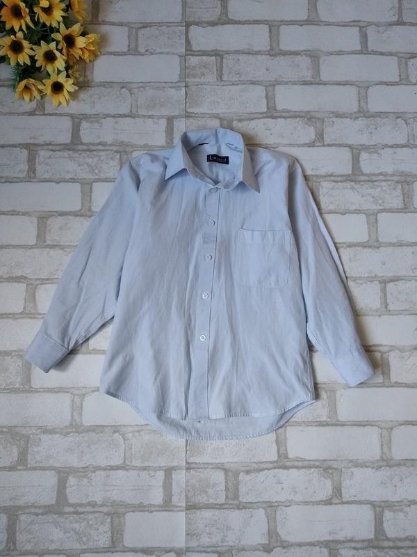 Рубашка lagard на мальчика белая в полоску
