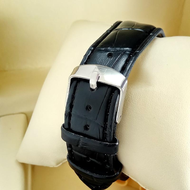 Женские кварцевые наручные часы tommy hilfiger на черном кожан... - Фото 3