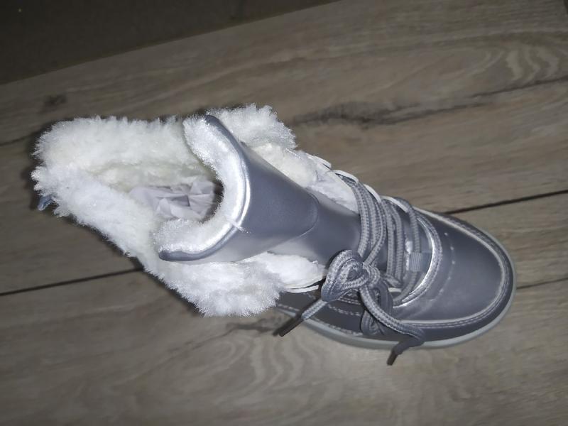 Утепленные кроссовки евро зима осень женские кросівки деми тол... - Фото 3