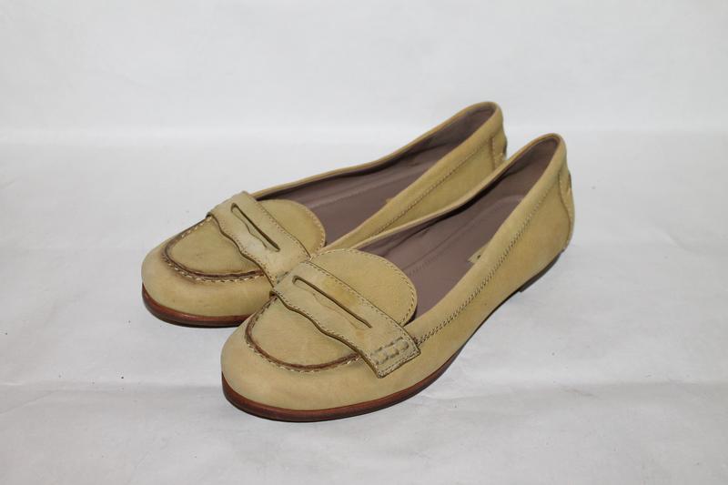Кожаные туфли 38 размер ecco
