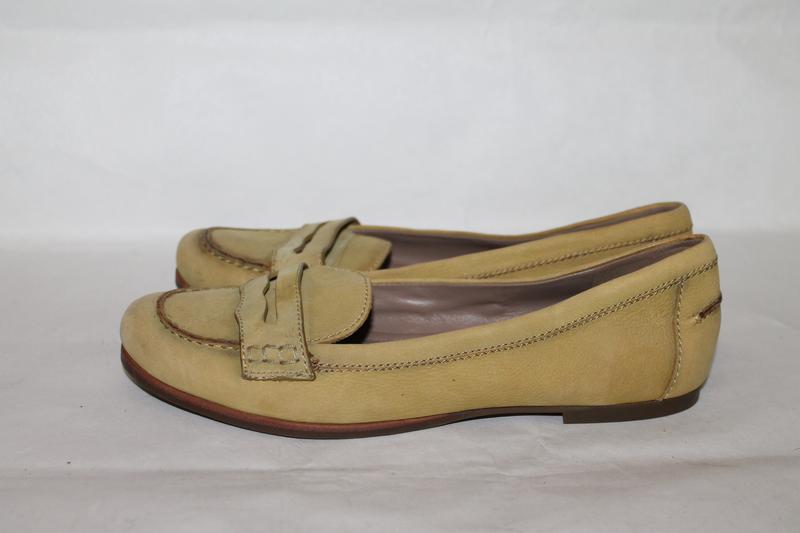 Кожаные туфли 38 размер ecco - Фото 3