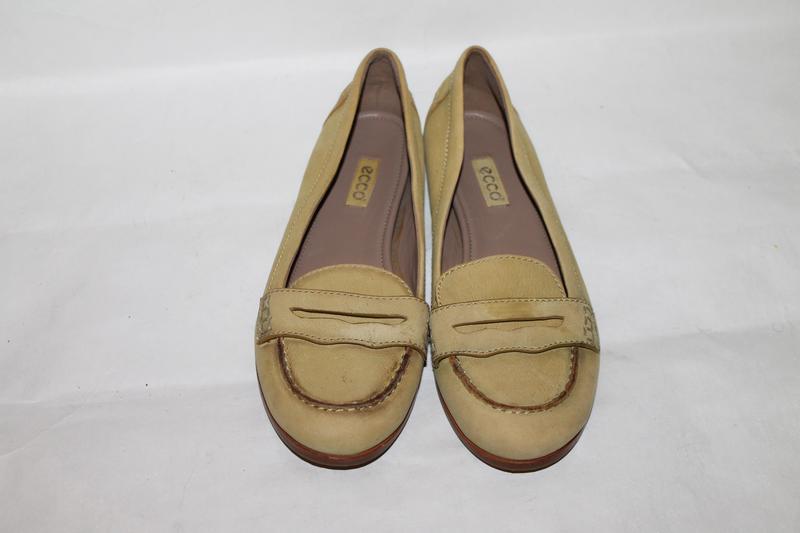 Кожаные туфли 38 размер ecco - Фото 4