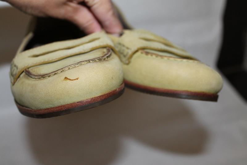 Кожаные туфли 38 размер ecco - Фото 5
