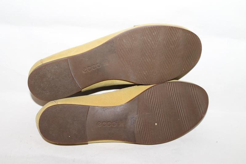 Кожаные туфли 38 размер ecco - Фото 7