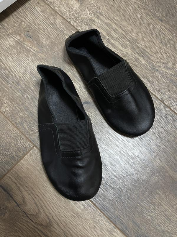 Кожаные чешки, обувь спортивная, для хореографии, гимнастику