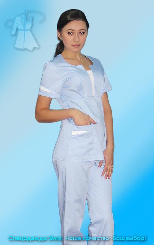 Женский медицинский хирургический костюм