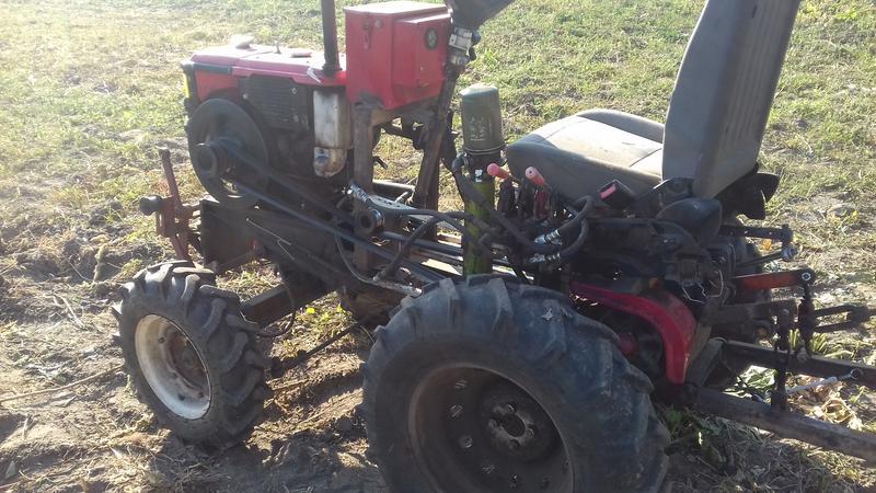 Продам мини-трактор Форт! З фрезою и косилкой!! Forte