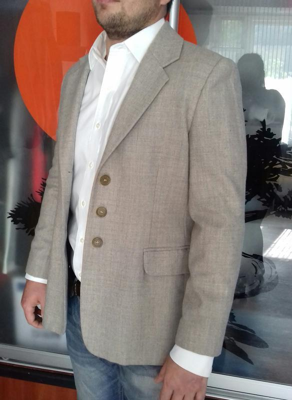 Пиджак мужской итальянский шерсть