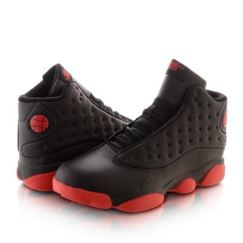 Мужские кроссовки с красной подошвой - Фото 2