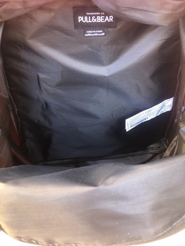Мужской рюкзак /чоловічий рюкзак/pull&bear/рюкзак - Фото 7