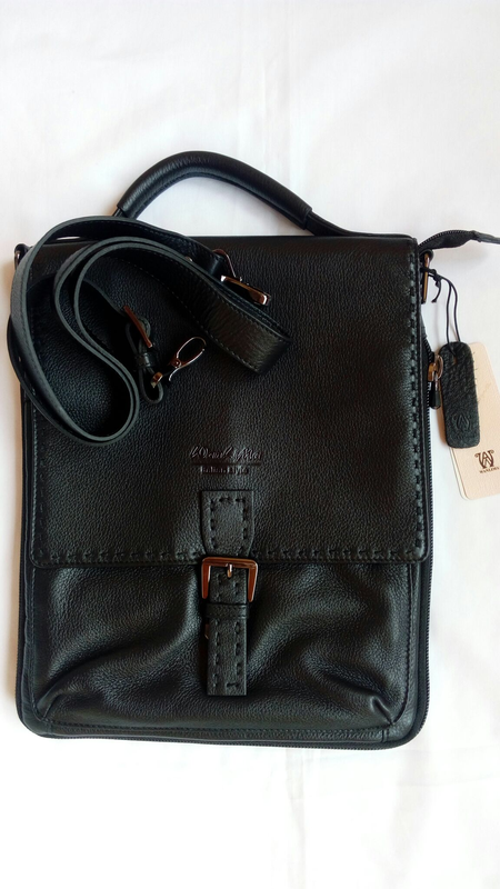 Кожаная сумка Wanlima
