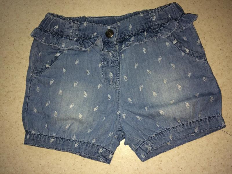 Шорты детские джинсовые topomini