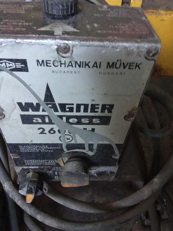 Агрегат окрасочный компрессор Вагнер 2600 - Фото 4