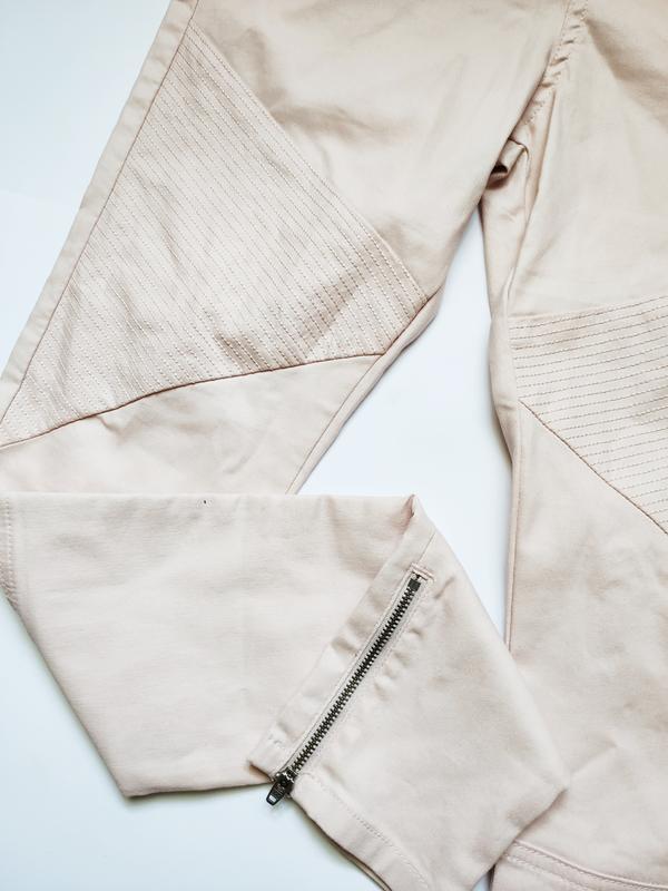 Нежнейшие джинсы с интересным дизайном качественные турецкие - Фото 3