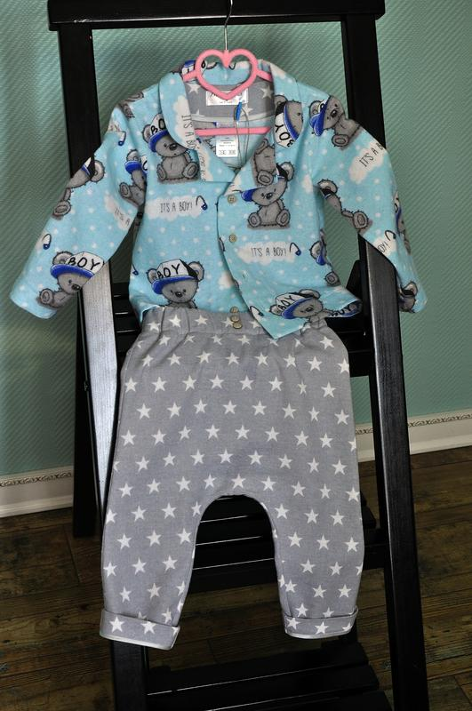 Пижама для мальчика, одежда для дома, ручная работа