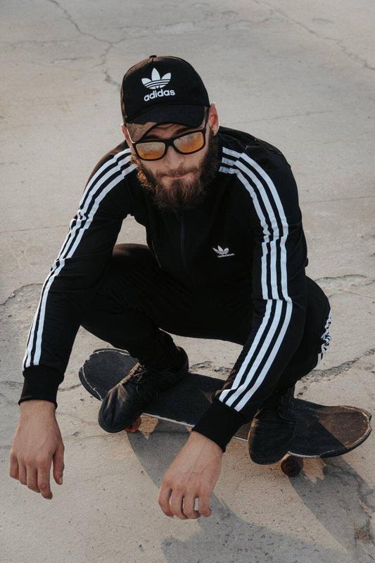 Спортивный костюм adidas с лампасом / спортивний костюм adidas... - Фото 2