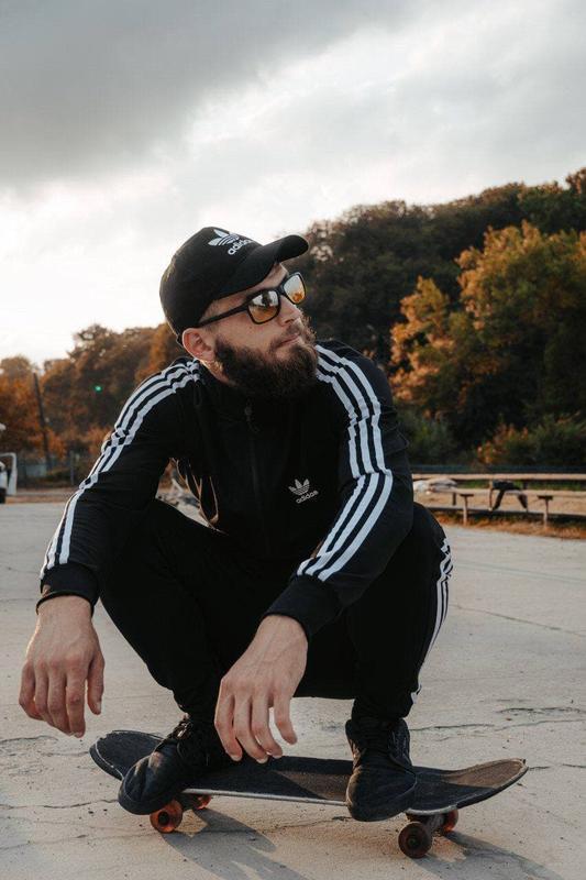 Спортивный костюм adidas с лампасом / спортивний костюм adidas... - Фото 3