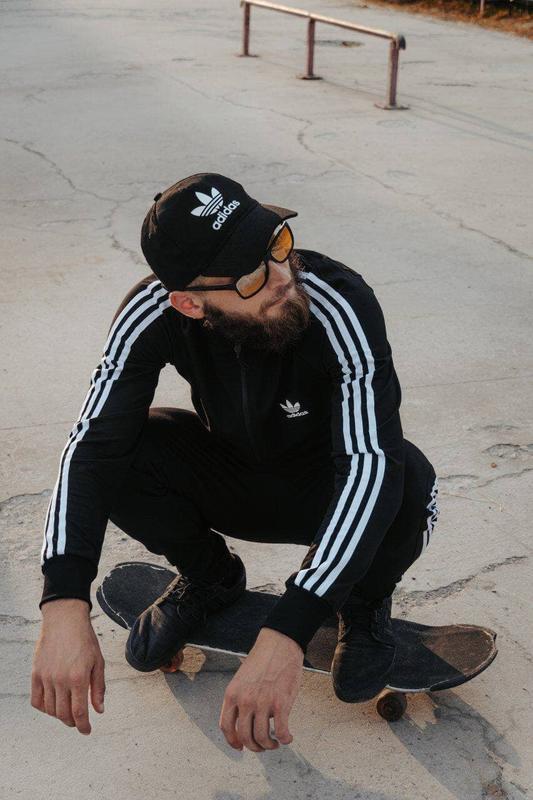 Спортивный костюм adidas с лампасом / спортивний костюм adidas... - Фото 8