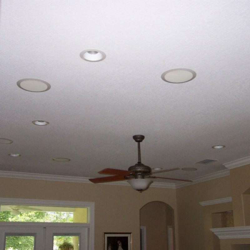 Ceiling surround new electric water heater