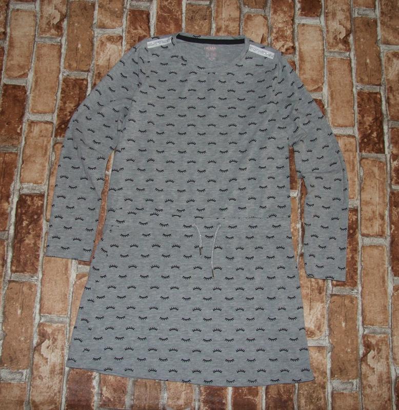 Платье хб 11-12 лет hema