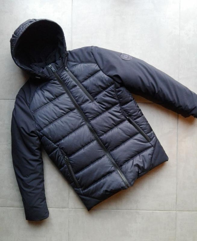 Зимняя куртка пуховик мужская зимняя куртка - Фото 2