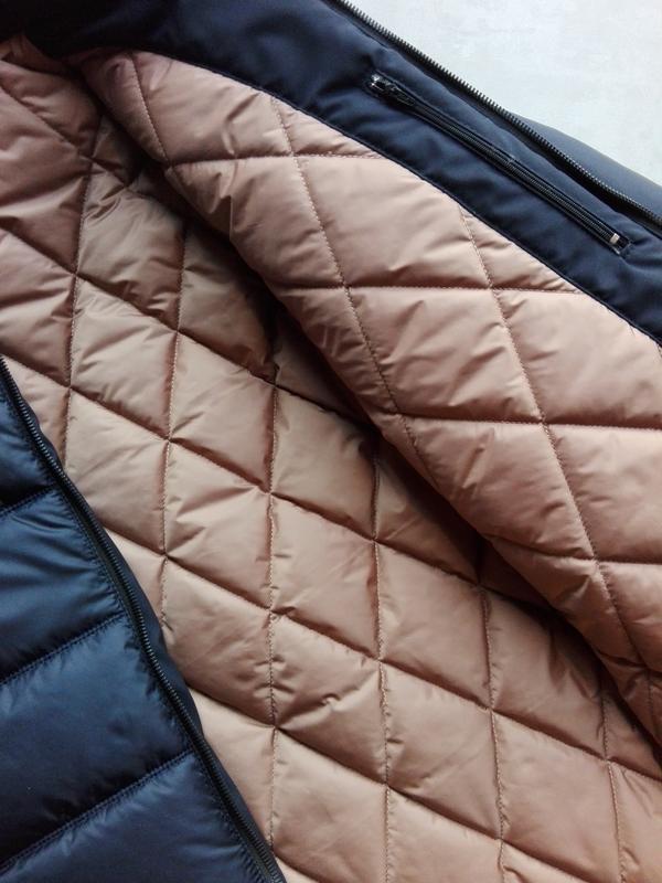 Зимняя куртка пуховик мужская зимняя куртка - Фото 5
