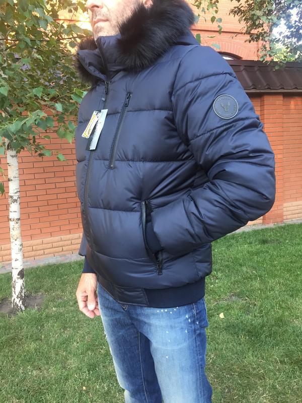 Зимняя куртка пуховик - Фото 3