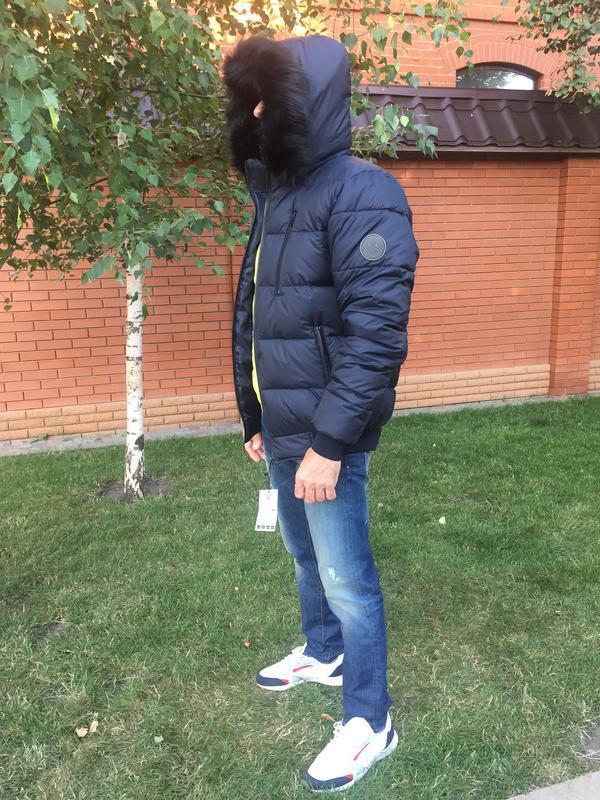 Зимняя куртка пуховик - Фото 5