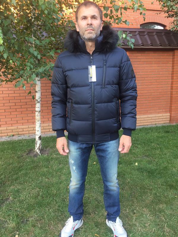 Зимняя куртка пуховик - Фото 6