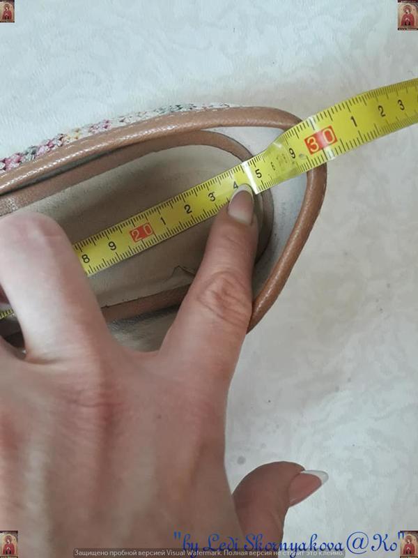 Симпатичные фирменные marks & spenser балетки/туфельки с банти... - Фото 4