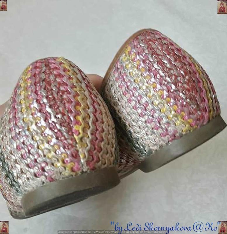 Симпатичные фирменные marks & spenser балетки/туфельки с банти... - Фото 7