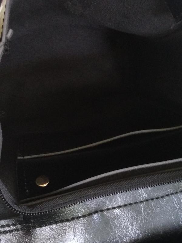 Рюкзак черный городской - Фото 7