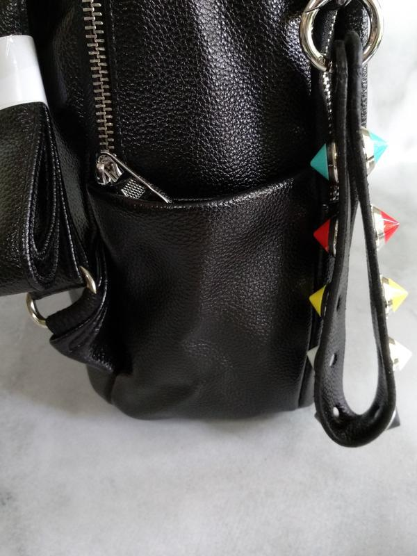 Черный рюкзак - Фото 3