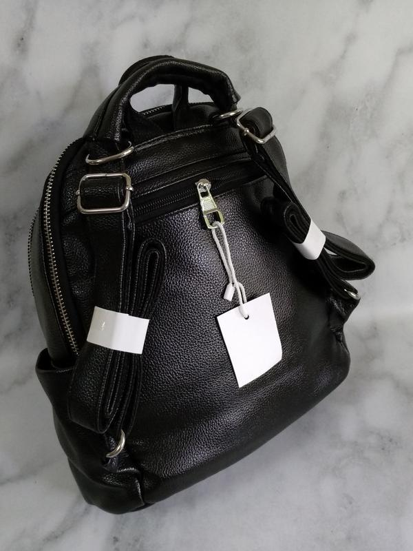 Черный рюкзак - Фото 4