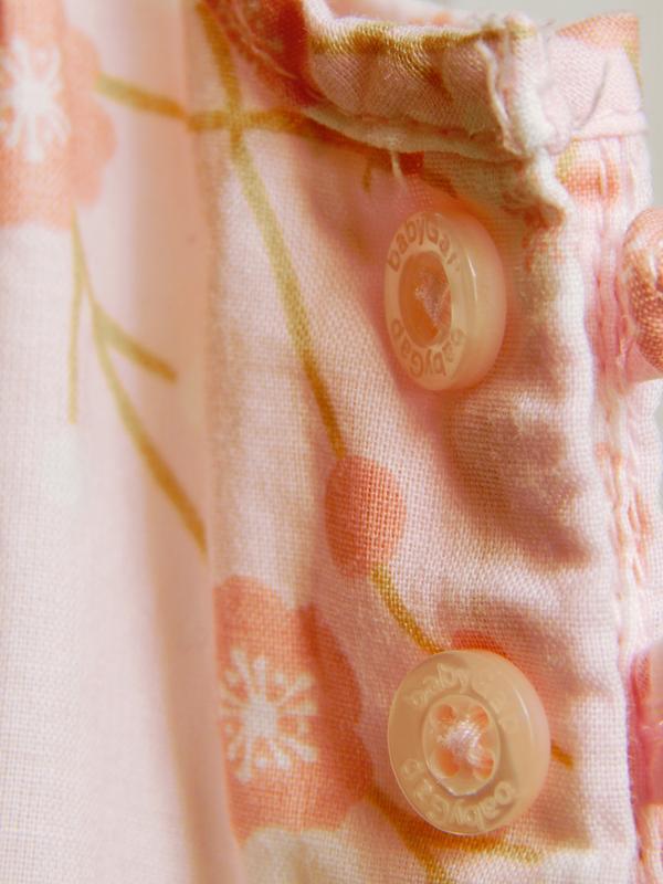 Розовый песочник-комбинезон на 3-6месяцев - Фото 6