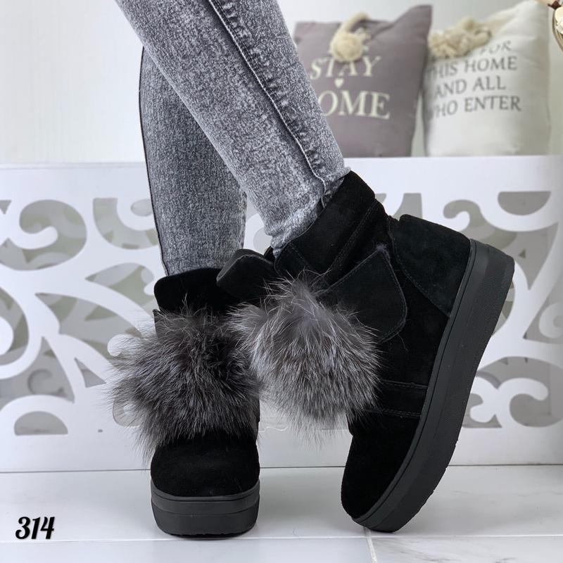 Стильные натуральные ботиночки - Фото 2