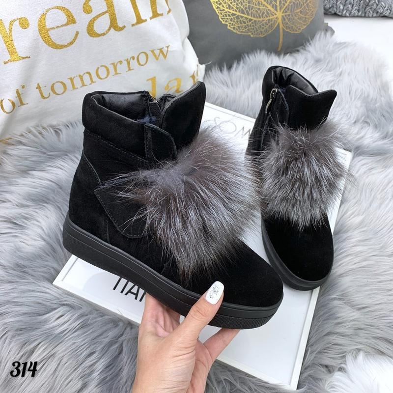 Стильные натуральные ботиночки - Фото 3
